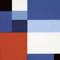 Servietten 33x33 cm - Atlantic squares
