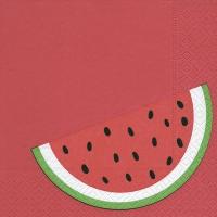 Servietten 33x33 cm - Melone