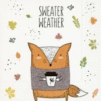 Servietten 33x33 cm - Sweater weather