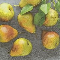 Servietten 33x33 cm - Fresh pears