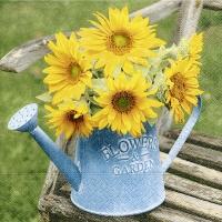 Servietten 33x33 cm - Flowers & garden