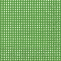 Servietten 33x33 cm - Vichy grün
