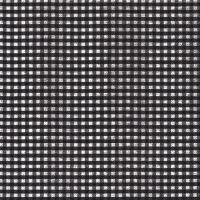 Servietten 33x33 cm - Vichy schwarz