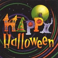 Lunch Servietten Happy Halloween