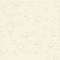 Servietten 33x33 cm - Momente Uni-Creme geprägt