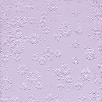Servietten 33x33 cm - Moments uni lavendel geprägt