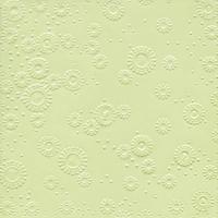 Servietten 33x33 cm - Momente uni minzgrün geprägt