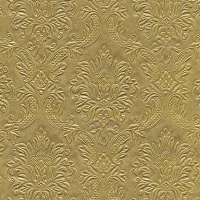 Servietten 33x33 cm - Moments Ornament gold
