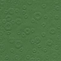 Servietten 33x33 cm - Momente uni waldgrün geprägt