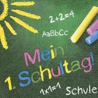 Servietten 33x33 cm - Mein 1. Schultag
