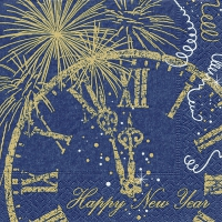 Servietten 33x33 cm - Welcome New Year