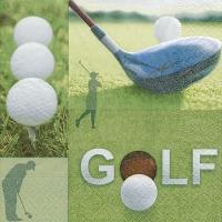 Lunch Servietten Golf
