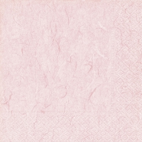 Servietten 33x33 cm - Reines Zartrosa