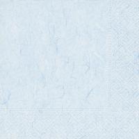 Servietten 33x33 cm - Reines Pastellblau