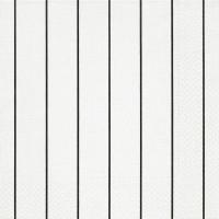 Servietten 40x40 cm - Heim weiß/schwarz
