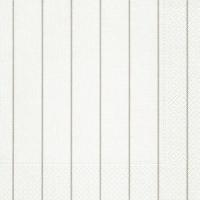 Servietten 40x40 cm - Home weiß/beige