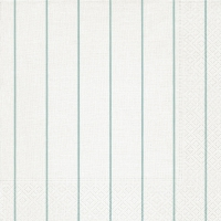 Servietten 40x40 cm - Home white/aqua