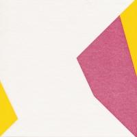 Airlaid Dinner Servietten - Origami Schmetterling pink/blau/gelb