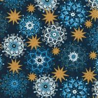 Servietten 25x25 cm - Filigree stars