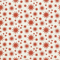 Servietten 24x24 cm - A lot of stars red