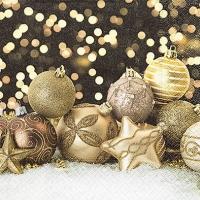 Servietten 33x33 cm - Feiern Sie Weihnachten