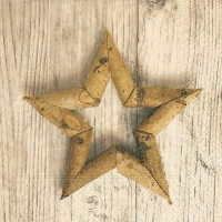 Servietten 33x33 cm - Birch star