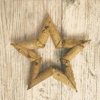 Servietten 33x33 cm - Birch star