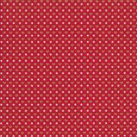 Servietten 33x33 cm - Mini patterns red