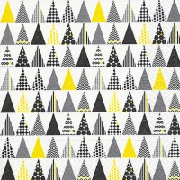 Servietten 33x33 cm - Musterbäume