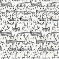 Lunch Servietten Snow cats