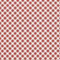 Lunch Servietten Star pattern red