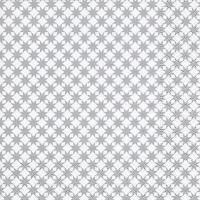 Servietten 33x33 cm - Star pattern silver