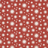 Servietten 33x33 cm - A lot of stars red