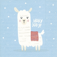 Servietten 33x33 cm - Holly jolly
