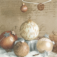 Servietten 33x33 cm - Bauble arrangement