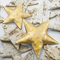 Servietten 33x33 cm - Just stars