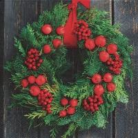 Lunch Servietten Door wreath