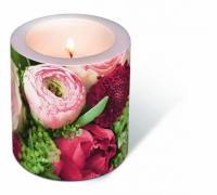 Dekorkerze - Eine Fülle von Blumen