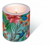 Dekorkerze - Tropical paradise