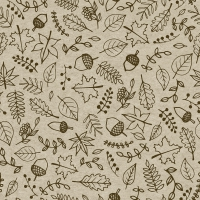Servietten 33x33 cm - Autumnmix