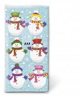 Taschentücher - Snowmen team