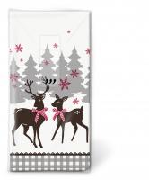 Taschentücher - Lovely deer