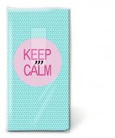 Taschentücher - Keep calm