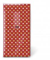 Taschentücher - Mini patterns red