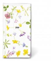 Taschentücher - Scattered flowers