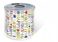 bedrucktes Toilettenpapier - Topi Happy Birthday