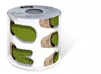 bedrucktes Toilettenpapier - Topi Cactuses