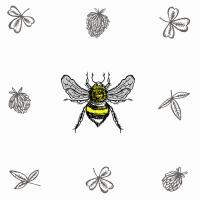 Servietten 24x24 cm - Bee Loved