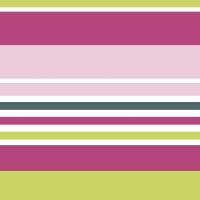 Servietten 24x24 cm - Chameleon Stripe