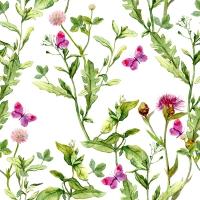 Servietten 33x33 cm - Pink Spring